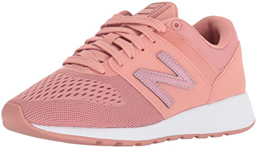 New Balance Womens 24v404 Sneaker, Dusted Peach, 9.5 W US