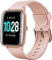 Arbily Montre Connectée Smartwatch pour Femmes Hommes Tracker d' Activité Bracelet Connecté IP68 Étanche Sport Fitness...