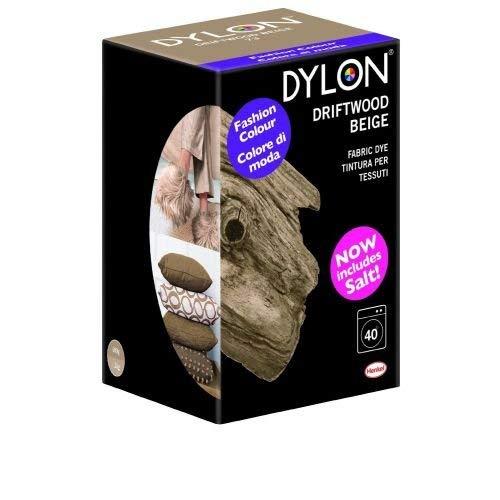 Dylon 350 g Machine Dye, Driftwood beige –  Confezione ecologica Driftwood beige-Confezione ecologica Henkel