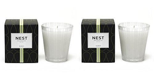 NEST Fragrances Classic Candle- Bamboo , 8.1 oz (2-(Pack))