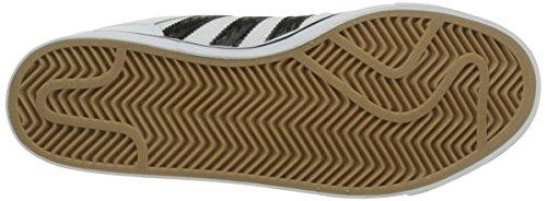 adidas Varial Ii Low, Zapatillas de Skateboarding para Hombre Blanco / Negro / Marrón (Ftwbla / Negbas / Gum4)