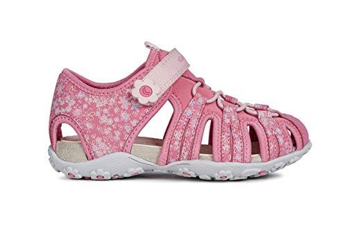 Geox Roxanne Girls Sandals/Little Kids/Youth, Fuchsia, 1