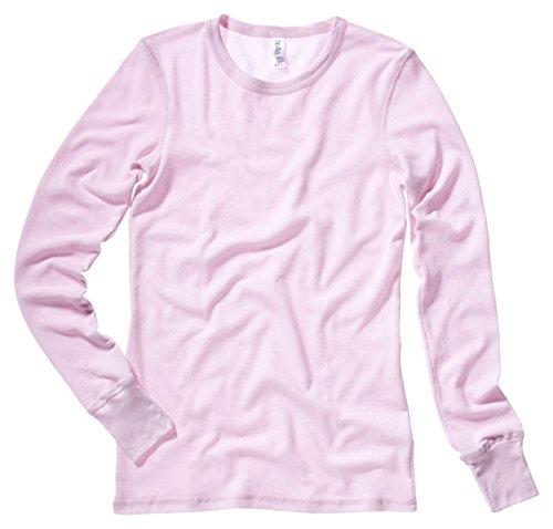 Bella Ladies Irene Long-Sleeve Thermal 2XL Soft Pink