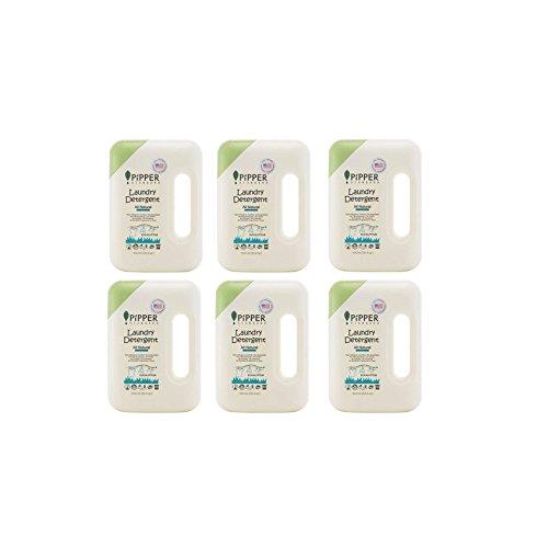 PiPPER STANDARD Luandry Detergent, Natural Eucalyptus 900ml. Pack 6 bottles