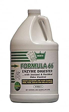 Amazon.com: Fórmula 66 enzima, 1 gal, biológicos Pk4 ...