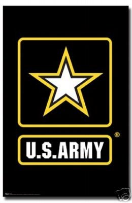 Us Army Poster Logo Rare Hot New