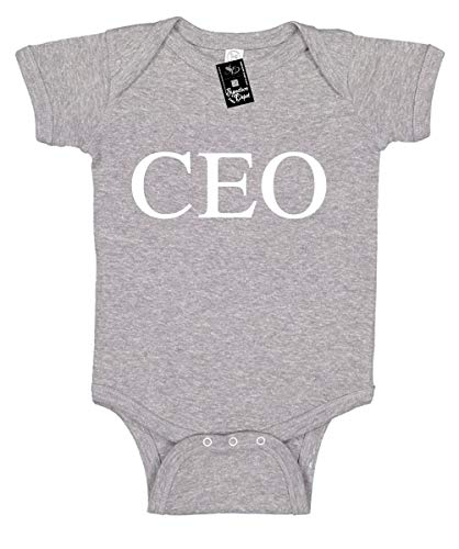 Signature Depot Infant Funny Baby Onesie Unisex T-Shirt Size 6 (CEO (Chief Executive Officer)