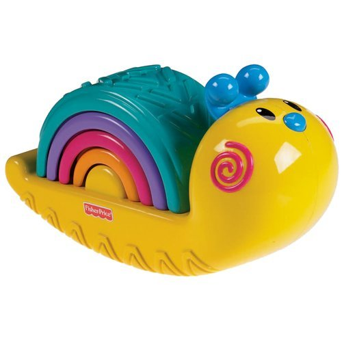 Fisher-Price Growing Baby: Rainbow Snail Stacker by Fisher-