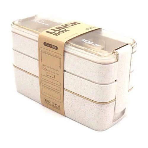 XSY Cajas de Almuerzo de Material Saludable, vajilla de microondas ...