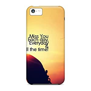 Fashion Tpu Case For iPhone 6 plus 5.5- Miss You Defender Case Cover