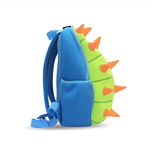Kindergarten Kinder Rucksäcke für Jungen Mädchen Kleinkind - Lustige Dinosaurier Rucksack Nettes Grün, Kinder Rucksack Jungen Wasserdichte Kleinkind Tasche, Dinosaurier (blau)