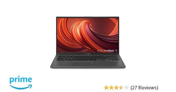 "ASUS VivoBook 15 Thin and Light Laptop, 15 6"" Full HD, AMD Quad Core  R5-3500U CPU, 8GB DDR4 RAM, 256GB PCIe SSD, AMD Radeon Vega 8 Graphics,  Windows"