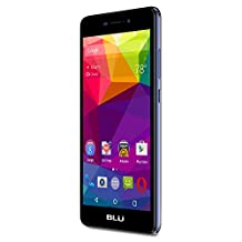 BLU Life XL-LTE Smartphone-GSM Unlocked-8GB Plus 1GB Ram, Dark Blue (Canada Compatible)