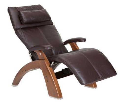 Human Touch PC-510 Perfect Chair Series 2 Walnut Electric Power Recline Wood (Human Touch Recliners)