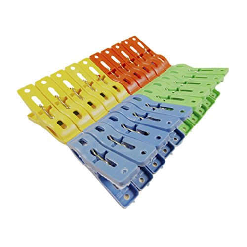 80%OFF Voberry® Set of 20 Beach Towel Clips in Fun Bright Prevents Towels Blowing Away