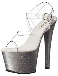 Pleaser Women's Sky308mg/C/S Platform Dress Sandal