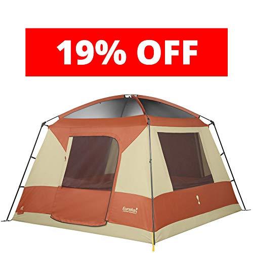 Eureka! Copper Canyon 6 Six-Person, Three-Season Camping Tent