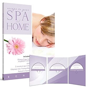 Amazon.com: Spa at Home: Pilates/Yoga for Any Body with 2 ...
