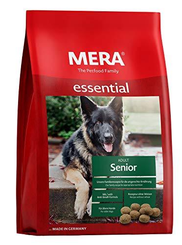 MERA essential Hundefutter > Senior < Für ältere Hunde – Geflügel Trockenfutter mit Chondroitin & Glucosamin für die…