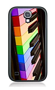 Case Cover Design Piano Art PN2 for Samsung S5 mini Border Rubber Pvc Case Black@pattayamart