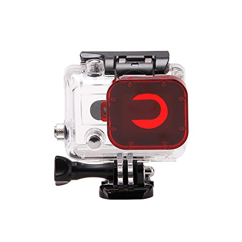 UPC 978952125143, Underwater Red Filter Housing for Gopro Hero 3+ Tropical and Blue Water Color Correction