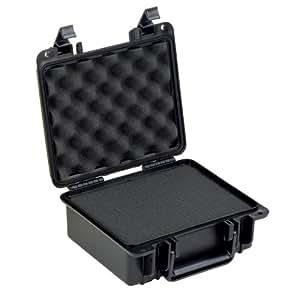 Seahorse SE-300F Waterproof Protective Hardcase with foam (Black)