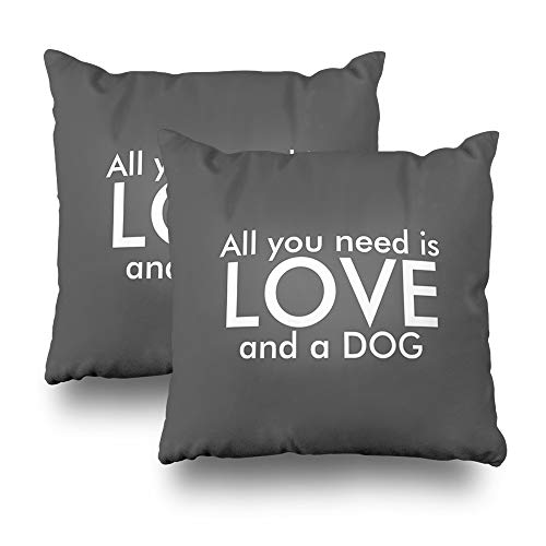 Set of 2 Darkchocl Daily Decoration Throw Pillow Covers for sale  Delivered anywhere in Canada