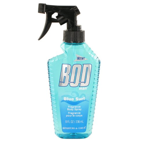 Bod Man Blue Surf by Parfums De Coeur 8 oz Body Spray for Men