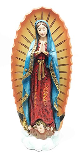 Gifts & Decor Our Blessed Virgin Lady of Guadalupe Holy Mother Figurine 7