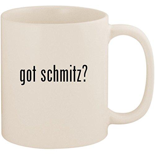 got schmitz? - 11oz Ceramic White Coffee Mug Cup, White (Jimmy Katze)