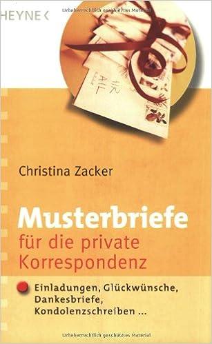 Musterbriefe für die private Korrespondenz: Einladungen ...