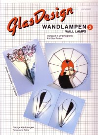 GlasDesign Wall Lamps 2 Stained Glass Pattern Book
