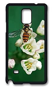 Adorable Hornets pick flowers Hard Case Protective Shell Cell Phone For Case Samsung Galaxy S5 Cover