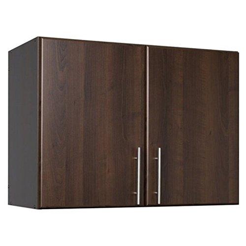 Brown Stackable (Prepac Espresso Elite Stackable Wall Cabinet, 32