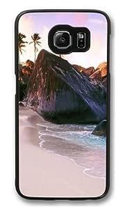 british virgin islands PC Case Cover for Samsung S6 and Samsung Galaxy S6 Black Kimberly Kurzendoerfer