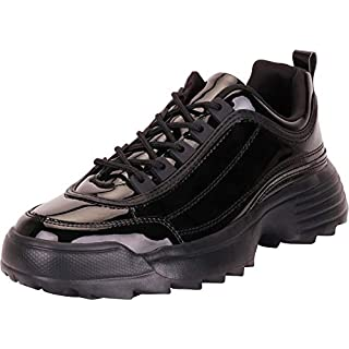 Women's black Chunky trainers