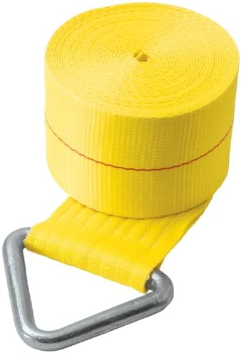 """B002LAUZ3O Security Chain Company CC4560 60' Yellow 4"""" V-Iron Tow Strap Assembly 41oaT5qjbEL"""
