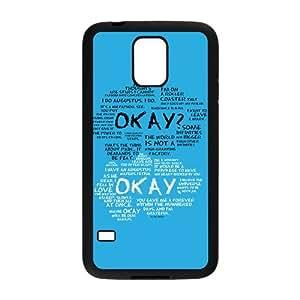 okay? okay. Phone Case for Samsung Galaxy S5
