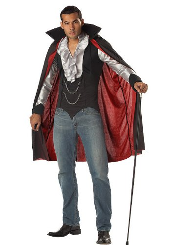 California Costumes Men's Very Cool Vampire Costume, -