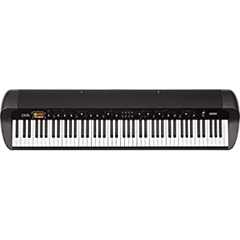 korg sv188bk 88 key digital piano with vintage sounds black musical instruments. Black Bedroom Furniture Sets. Home Design Ideas