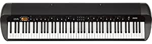 Korg SV188BK - 88 - Key Digital Piano with Vintage Sounds, Black