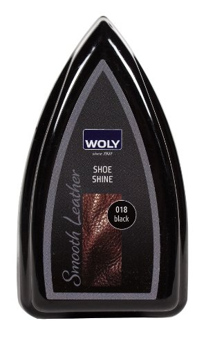 Woly Black Travel Shoe Shine Sponge.Glossy Shine for Designer Shoes. Made in Germany. Small size for travelling. by Woly (Image #5)