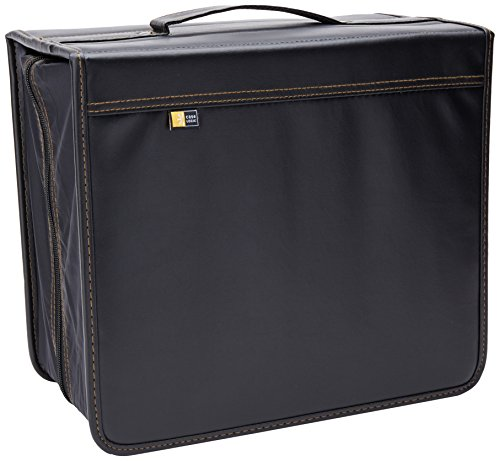Case Logic DVB-200 200 CD/DVD and 92 Liner Note Capacity (Black) (Media Wallets Dvd Storage)