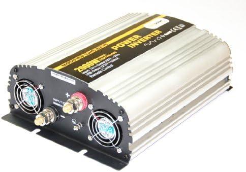 Spannungswandler Ns 12v 2000 Watt Inverter Wechselrichter Beleuchtung