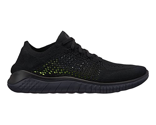 quality design 08abf 75309 Galleon - NIKE Men s Free RN Flyknit 2018 Black Anthracite 12.0