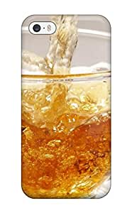 2015 Iphone Premium Protective Hard Case For Iphone 5/5s Nice Design A Glass Of Iced Tea