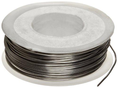 "Nickel Chromium Resistance Wire, Bright, 18 AWG, 0.0403"" Diameter, 50"
