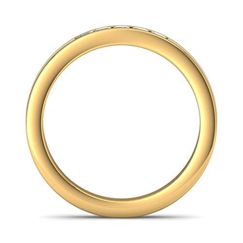 Or jaune 18K, 0,15carat Diamant Blanc (IJ | SI) en diamant