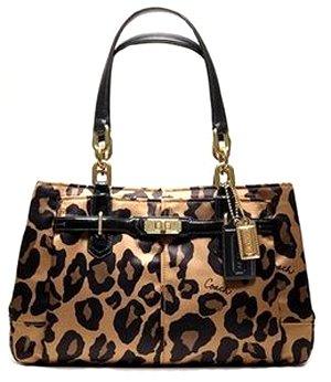 Coach Animal Print Bag - 1
