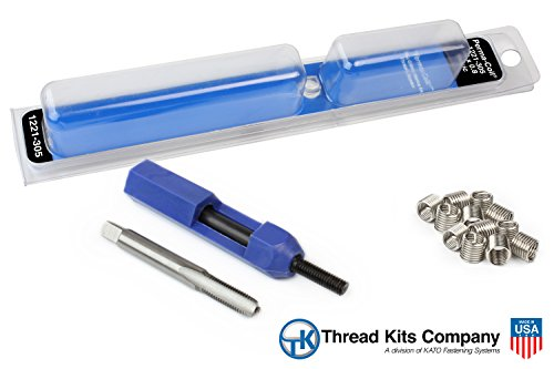(Perma-Coil 1221-305 Metric Thread Repair Kit M5X0.8 12PC Helicoil 5403-4)
